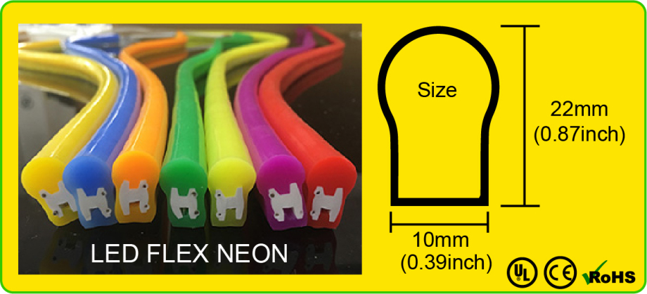 LED FLEX NEON 10MM BOLD